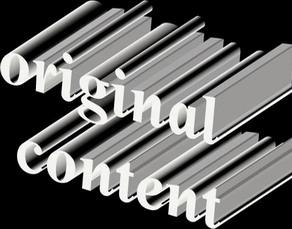 Eredeti tartalom - Unique content